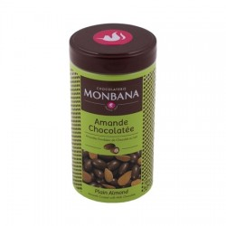 Monbana almonds in chocolate 180g
