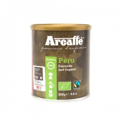Ground coffee Arcaffee Peru FTO 250g