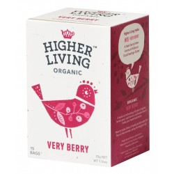 Higher Living Very Berry Herb Infusion tea 15 teabags