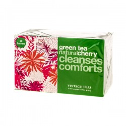 Vintage Teas Cherry Green Tea 30 teabags