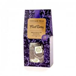 Vintage Teas Forest Berry Pyramid фруктовый чай в шелковом пакетике 20 пирамидок