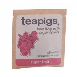 Teapigs Super Fruit pyramid augļu tēja piramīda maisiņā