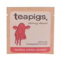 Teapigs Rooibos Creme Caramel pyramid augļu tēja piramīda maisiņā