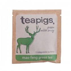 Teapigs Mao Feng pyramid zaļā tēja piramīda maisiņā