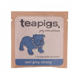 Teapigs Earl Grey Stiprā pyramid melnā tēja piramīda maisiņā