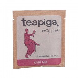 Teapigs Chai tea black tea pyramid