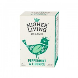 Higher Living Evening Organic Herb Infusion tea 15 teabags