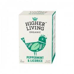Higher Living Organic vakara tēja 15 paciņas