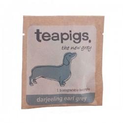 Teapigs Darjeeling Earl Grey pyramid melnā tēja piramīda maisiņā