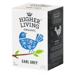 Higher Living Organic Earl Grey черный чай 20 чайных пакетиков