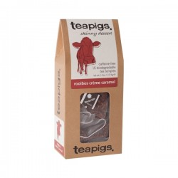 Teapigs Rooibos Creme Caramel herbal tea pyramid
