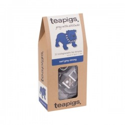 Teapigs Earl Grey Strong black tea pyramid