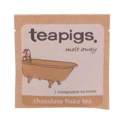 Teapigs pyramid melnā tēja ar šokolādi piramīda maisiņā 15gab