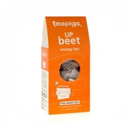 Teapigs Up Beet Enerģijai zaļā tēja piramīda maisiņā 15gab.