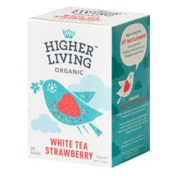 Higher Living Organic dabīgā zaļā tēja 20 tējas maisiņi