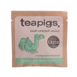 Teapigs zaļā tēja ar marokiešu piparmētru piramīda maisiņā 15gab.