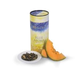 Regalo Blue Aroma зеленый чай с черникой и дыней 75г