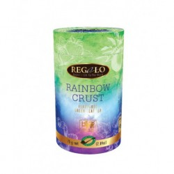 Regalo Rainbow Crust Green tea with apple, strawberries and oranges 75g