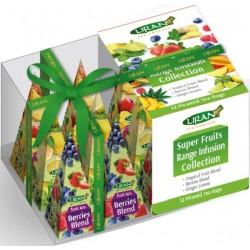 Liran Super Fruits фруктовый чай в пирамидках 12штx2г