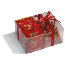 Liran Новогодняя коллекция черного чая в пирамидках 12штx2г