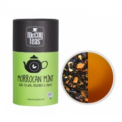 MCCOY TEAS Morrocan Mint black tea 2gx10 pyramid