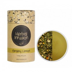 MCCOY TEAS HERBAL INFUSION Gingery Lemon tea 2gx10 pyramid