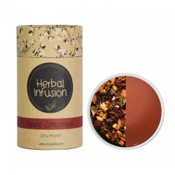 MCCOY TEAS HERBAL INFUSION Apple Cinnamon tea 2gx10 pyramid