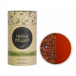 MCCOY TEAS HERBAL INFUSION Rooibos Peppermint tea 2gx10 pyramid