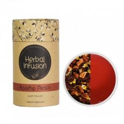 MCCOY TEAS HERBAL INFUSION Rosehip Peach tea 2gx10 pyramid