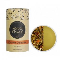 MCCOY TEAS HERBAL INFUSION Orange Camomile tea 2gx10 pyramid