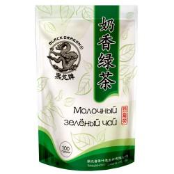 Черный Дракон Молочный зеленый чай, 100г