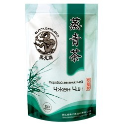 Dragon Steamed green tea Chzen Chin, 100g