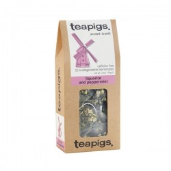 Teapigs Liquorice & Peppermint tea pyramid