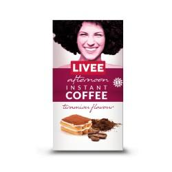 Livee Afternoon растворимый кофе со вкусом тирамису 60г