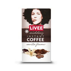 Livee Midday instant coffee with vanilla flavor 60g