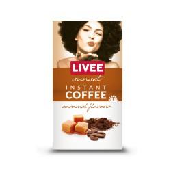 Livee Sunset растворимый кофе со вкусом карамели 60г