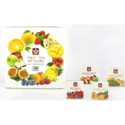 Mccoy Fruit Tea Infusions Green Tea collection pyramids 16x2g