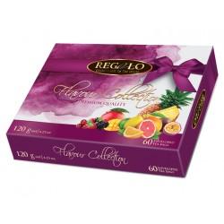 Regalo коллекция фруктового и белого чая в пакетиках 60шт.x2г