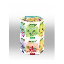 Liran Hexohonal baltās un zaļās tējas kolekcija maisiņos 96gab.x1.5g