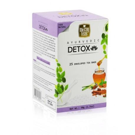 MCCOY TEAS Ayurvedix Detox green tea 2gx25pcs