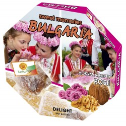 Sweet Memories Delight with Nuts, Honey and Rose Flavor 140g