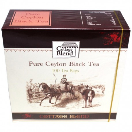 Vintage Teas Cottage Blend Pure Ceylon Black tea 100 teabags, 150g