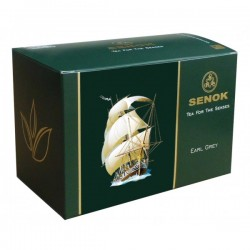 Senok Earl Grey Green Tea in bags 2g x 20 pcs
