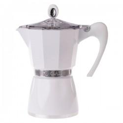 G.A.T. Bella 6tc Express kafijas kanna Moka pagatavošanas aparāts balts (Itālija)