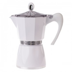 G.A.T. Bella 6tc White Moka Express coffee pot (Italy)