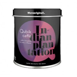Ground coffee Qubik Indian Plantation 100% 125g