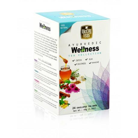 MCCOY TEAS Ayurvedic Wellness green tea collection 2gx24 pcs