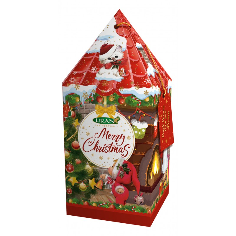 Liran Merry Christmas Red House Black tea with orange and honey 20 ...