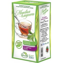 Di & Di SUGAR-SUBSTITUTE based on stevia extract, natural Honey sweet 250 g