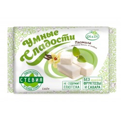 Smart sweets PASTILE with stevia, vanilla, not glazed 160 g No added sugar